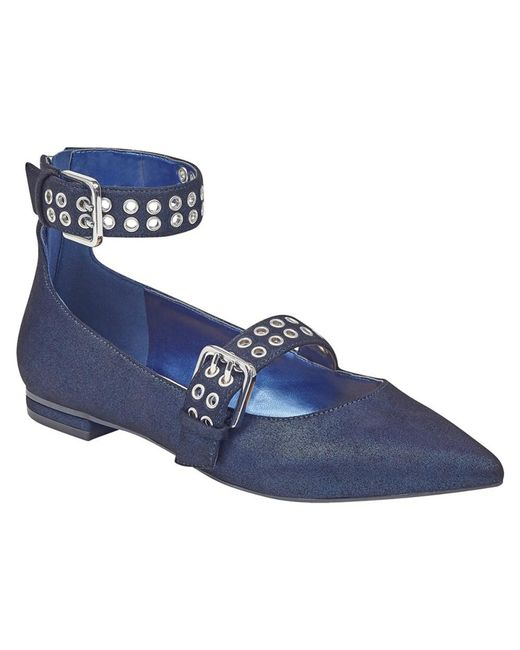 Marc Fisher - Blue Falen Flat - Lyst