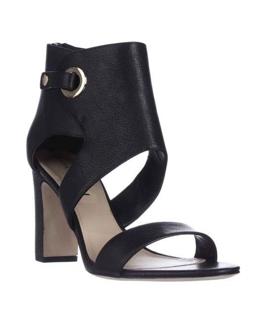 Via Spiga - Adra Ankle Cuff Dress Sandals - Black - Lyst