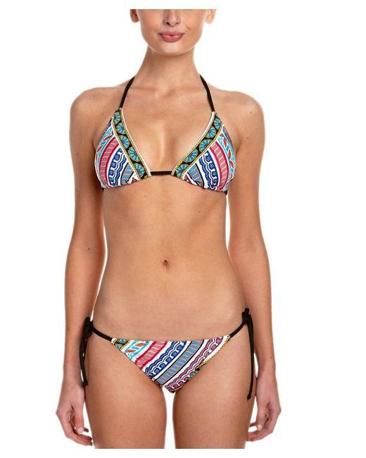 Trina Turk | Multicolor Special Border Tie Bottom | Lyst