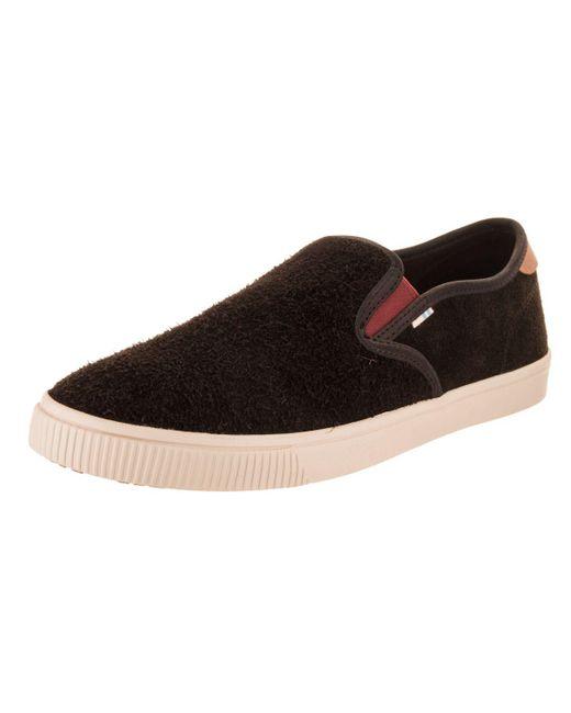 117ba7254dd TOMS - Brown Men s Baja Slip-on Shoe for Men - Lyst ...