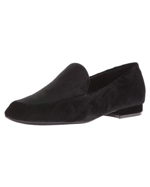Nine West - Black Womens Xalan Square Toe Loafers - Lyst