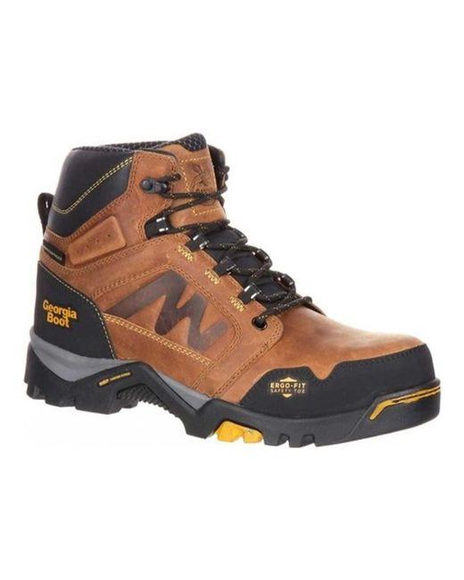 Georgia Boot - Brown Men's Amplitude Composite Toe Waterproof Work Boot for Men - Lyst