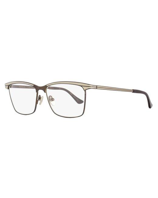 4c27a63dc80 Dita - Metallic Square Eyeglasses Drx3009 Corsair E Size  55mm Bronze dark  Cream 3009 ...