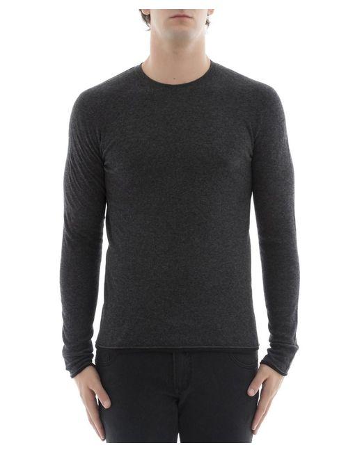 Rag & Bone - Gray Men's Grey Cotton Sweater for Men - Lyst