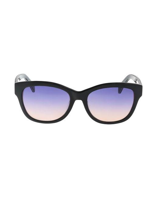 Just Cavalli | Jc718s 5502w Black Oval Sunglasses | Lyst