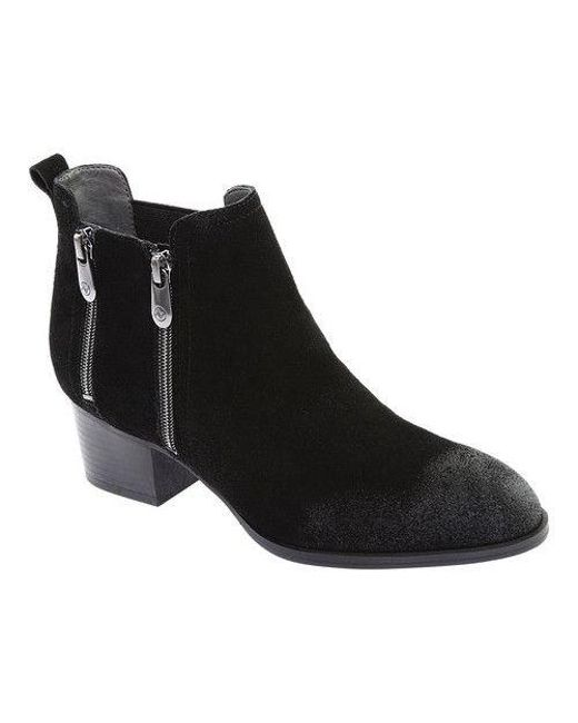 48264d400aa Lyst - Adrienne Vittadini Women s Ravi Ankle Bootie in Black