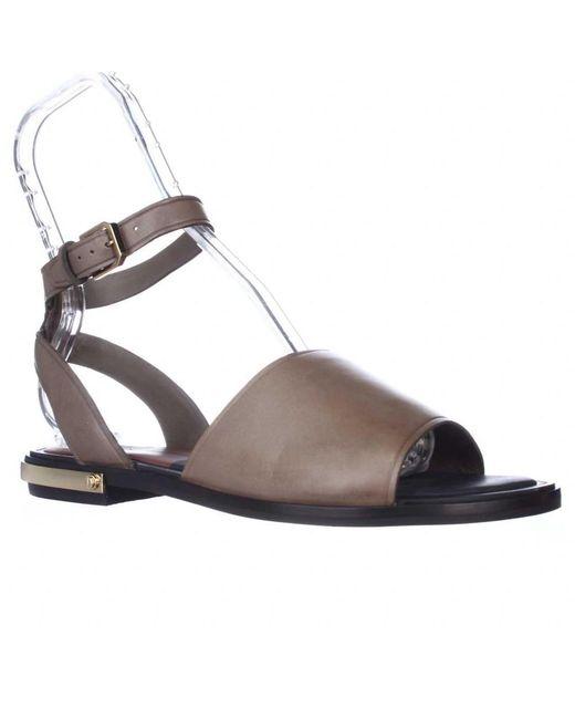 Dolce Vita | Green Dacota Flat Gladiator Sandals - Dark Olive | Lyst