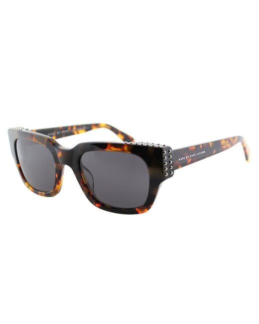 Marc By Marc Jacobs - Black Cat-eye Plastic Sunglasses - Lyst