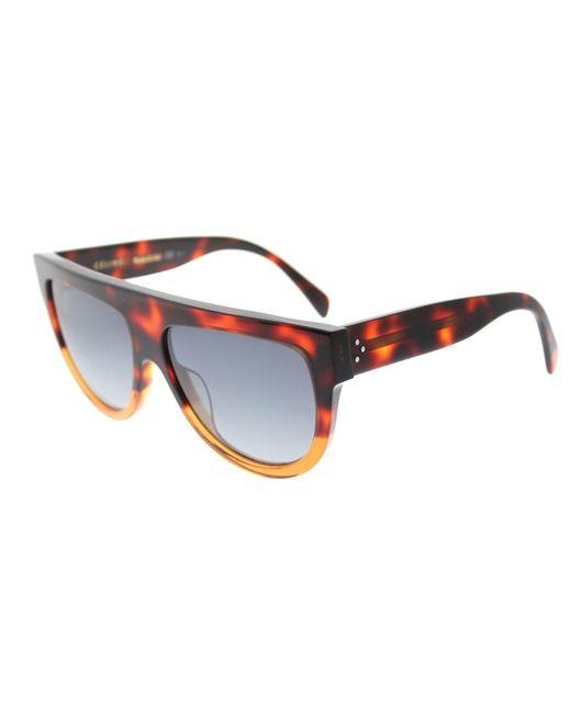Céline - Gray 'shadow' Sunglasses - Lyst