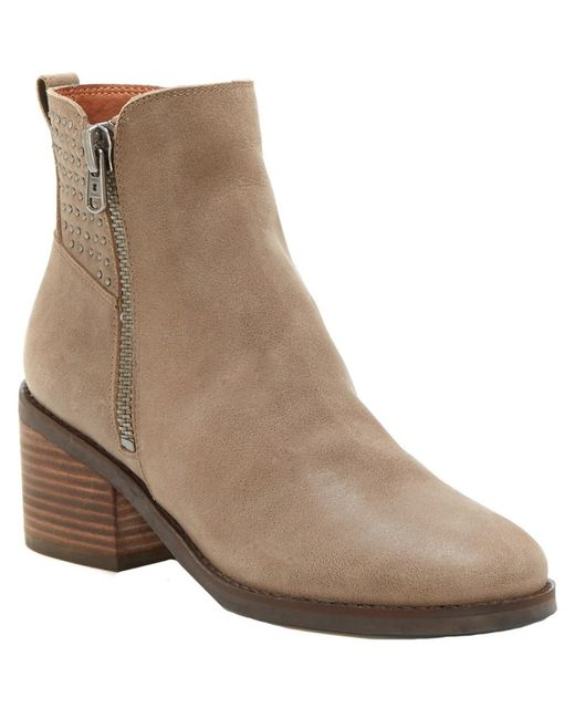 Lucky Brand - Brown Kalie Leather Boot - Lyst