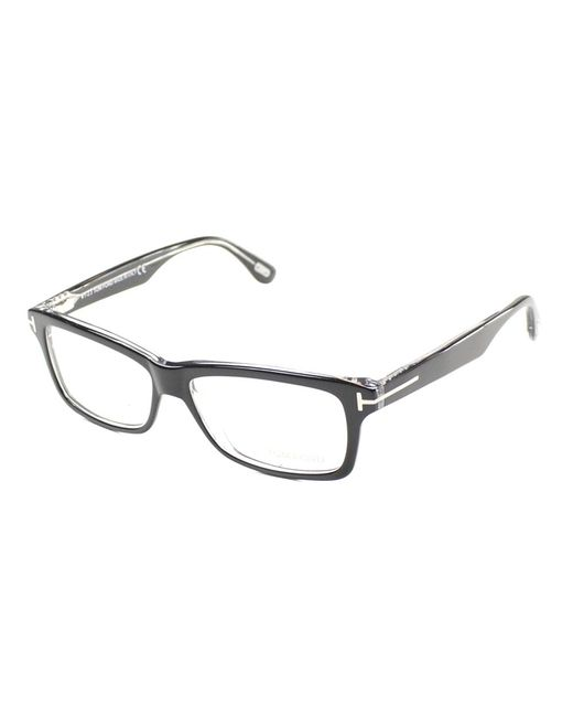 Tom Ford - Black Rectangle Plastic Eyeglasses - Lyst