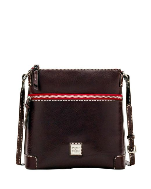 Dooney & Bourke - Brown Florentine Nuovo Crossbody Shoulder Bag - Lyst