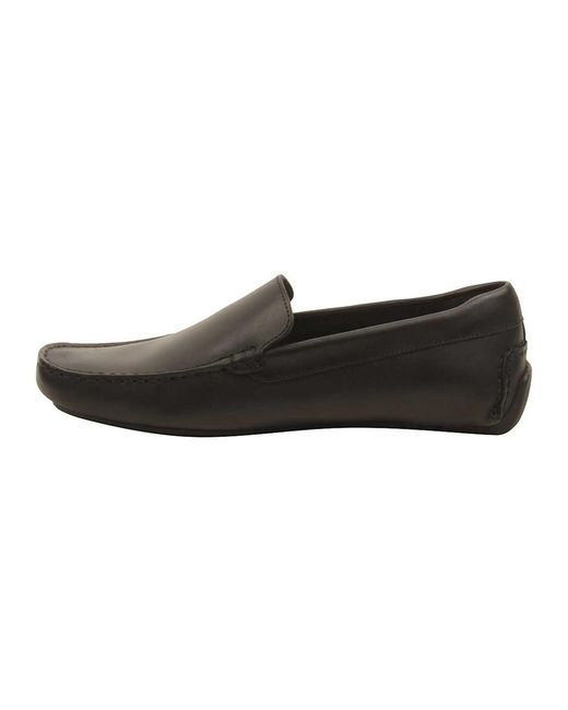 7c98676a5 ... Lacoste - Mens Piloter 117 Loafers In Black for Men - Lyst ...