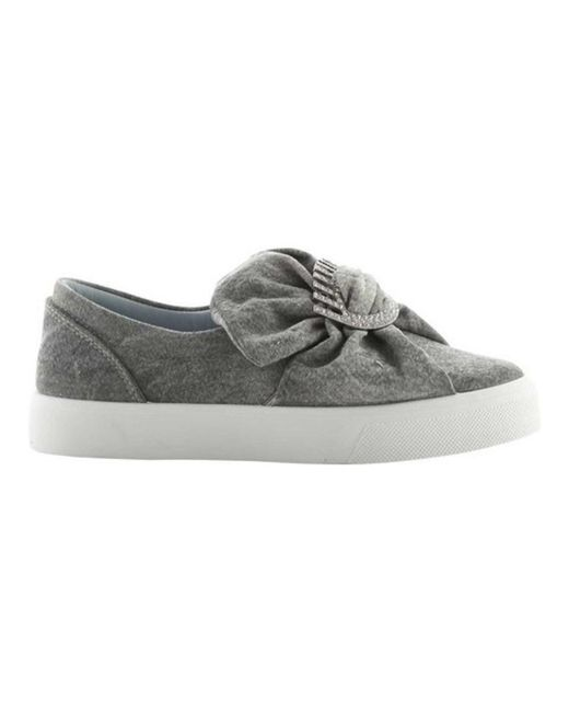 Chiara Ferragni - Gray Women's Oversized Bow Slip-on Sneaker - Lyst