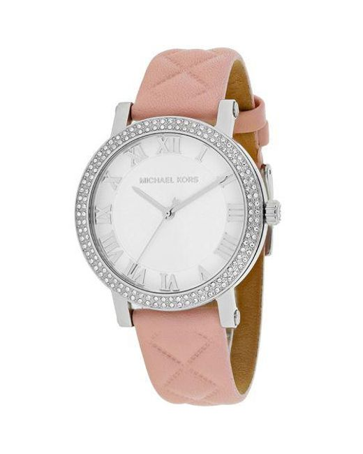 515846ef81cb Lyst - Michael Kors Women s Norie Watch in Metallic