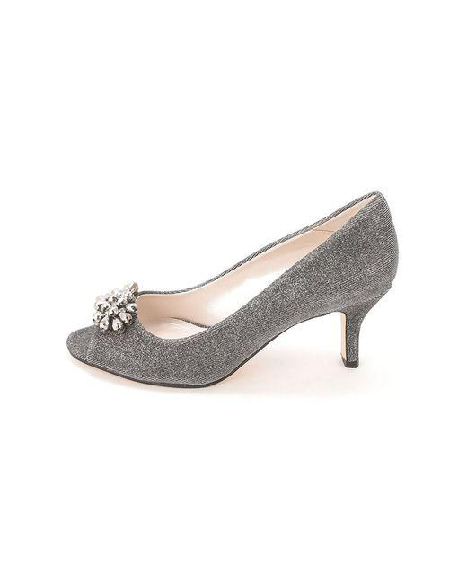 Caparros - Metallic Womens Marissa Glitter Peep Toe Classic Pumps - Lyst