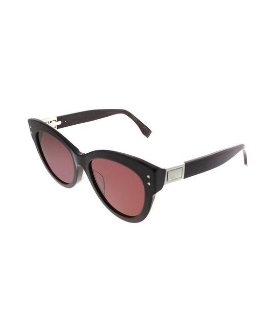 470d5806ae9 Fendi - Multicolor Peekaboo Ff0282 f 0t7 Plum Cat-eye Sunglasses - Lyst ...