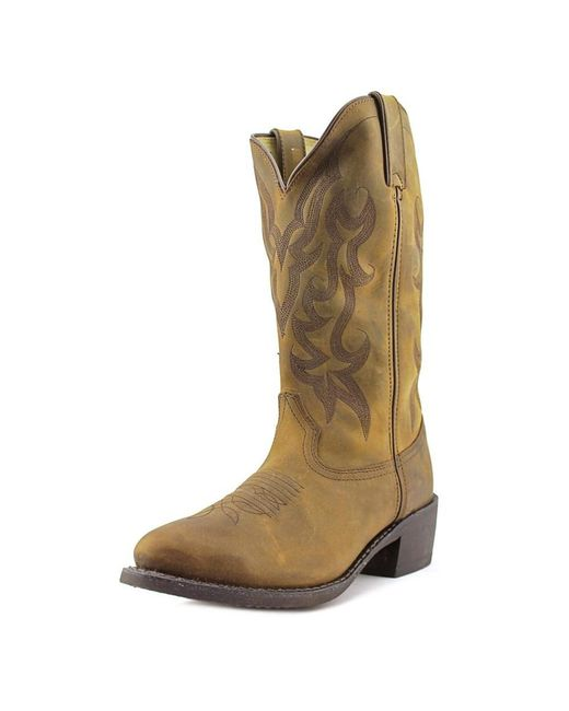 Durango | Multicolor Db922 Men Round Toe Leather Tan Western Boot | Lyst