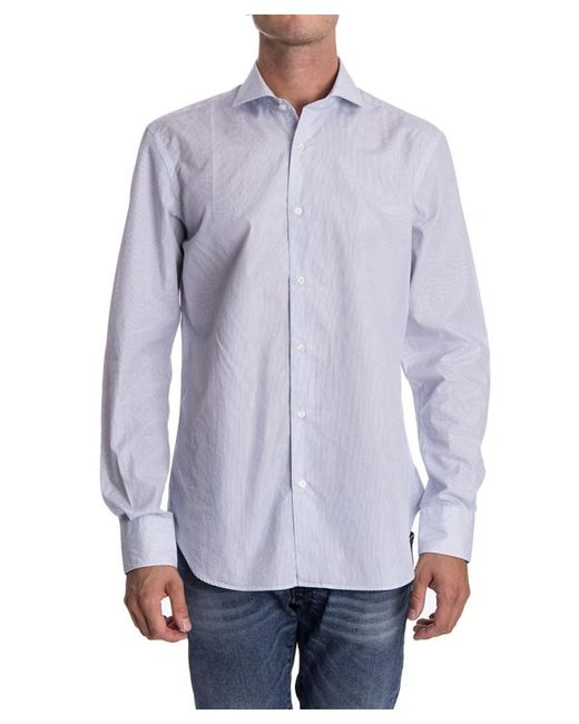 Aspesi - Men's Light Blue Cotton Shirt for Men - Lyst
