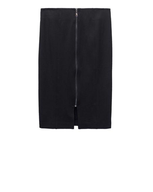 Bobeau - Black Brigid Ponte Skirt Plus Size - Lyst