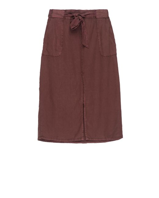 Bobeau | Purple Sark Tie Waist Skirt Plus Size | Lyst