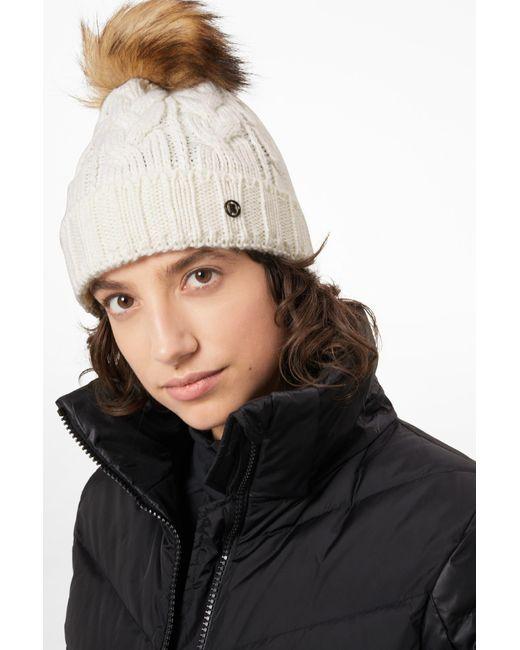 Bogner - ??vineta Knitted Hat In Off-white - Lyst