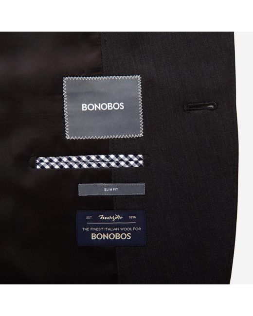 Bonobos - Gray The Foundation Italian Wool Suit Jacket for Men - Lyst