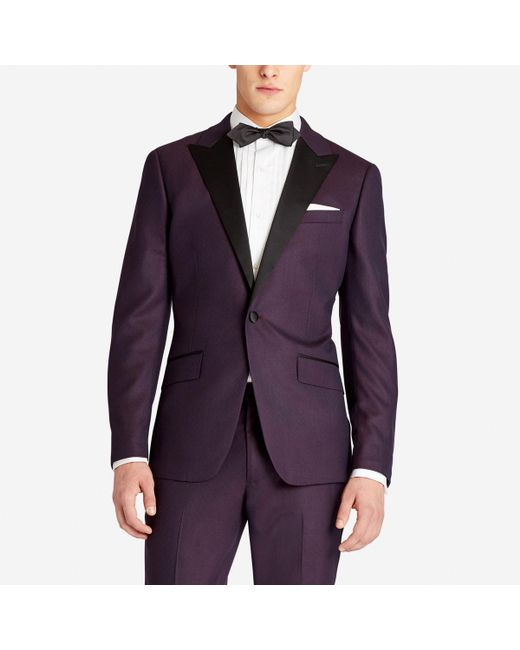 Bonobos - Purple The Capstone Italian Wool Tuxedo Jacket for Men - Lyst