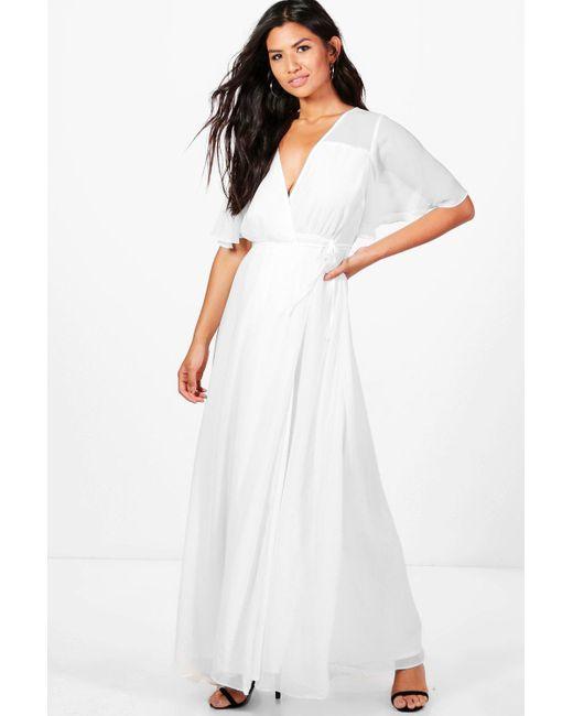 White Chiffon Dresses