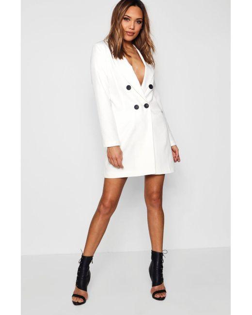Sale Exclusive Fast Shipping Boohoo Metallic Blazer Dress Low Shipping Fee Online a3yGa2Y