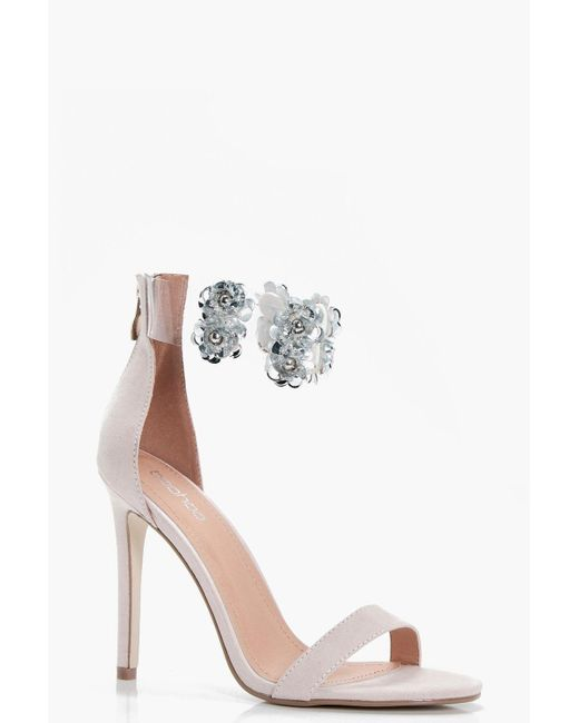 Boohoo | Multicolor Mia Embellished Perspex Ankle Band 2 Part | Lyst