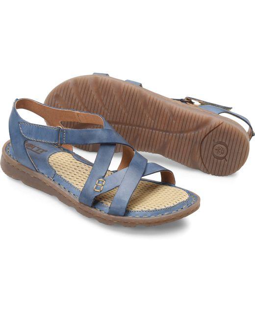 f5a5f1487eaea0 Born Shoes - Blue Trinidad - Lyst ...