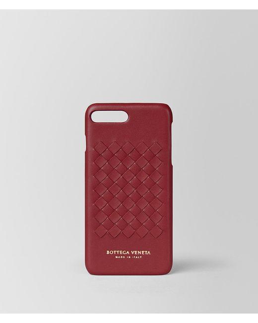 13670aeb48e5 Bottega Veneta - Red High-tech Case - Lyst ...