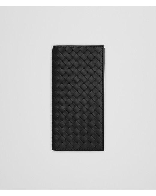 Bottega Veneta - Black Nero Intrecciato Continental Wallet - Lyst