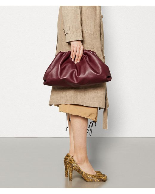 a5d3c7a9aa ... Bottega Veneta - Multicolor The Pouch In Butter Calf Leather - Lyst ...