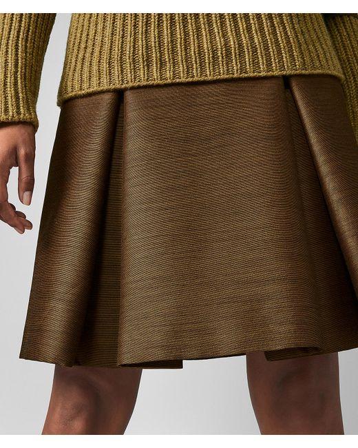 1a61ec35df ... Bottega Veneta - Multicolor Skirt - Lyst ...