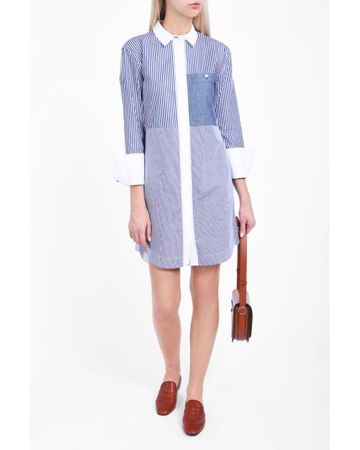 Elizabeth and James | Blue Jay Striped Dress | Lyst