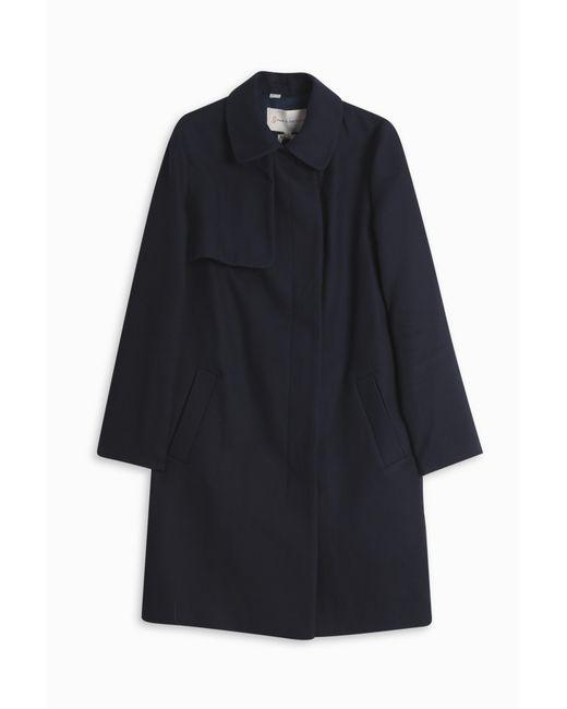 Paul & Joe | Blue Peter Pan Collar Trench Coat | Lyst