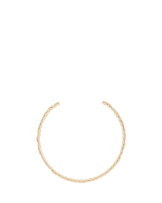 Jennifer Fisher | Metallic Small Braid Choker | Lyst