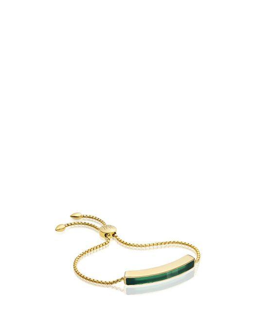 Monica Vinader | Green Baja Bracelet | Lyst