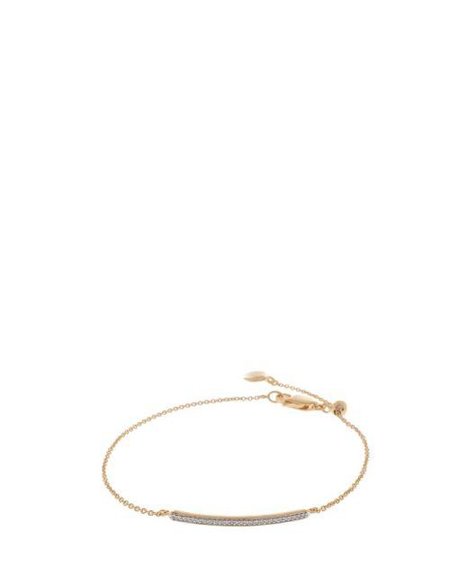 Monica Vinader   Metallic Skinny Bar Bracelet   Lyst