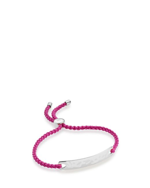Monica Vinader | Multicolor Skinny Short Bar 18ct Rose Gold-plated Diamond Bracelet | Lyst