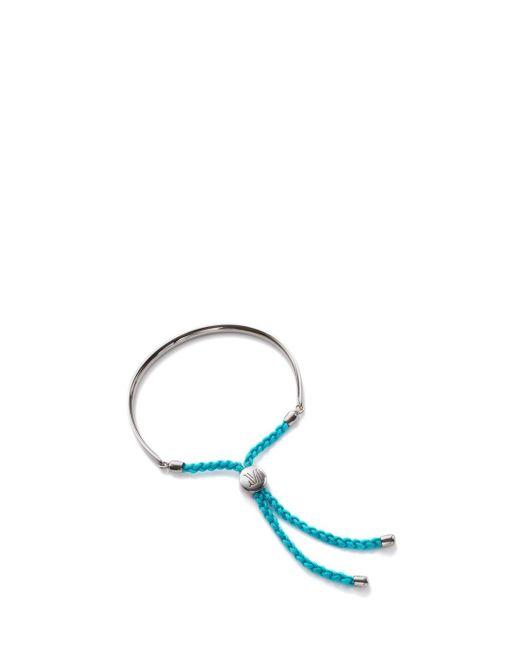 Monica Vinader | Blue Peace Fiji Bracelet | Lyst