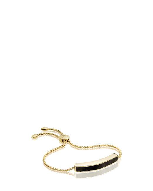 Monica Vinader | Multicolor Onyx Baja Bracelet | Lyst