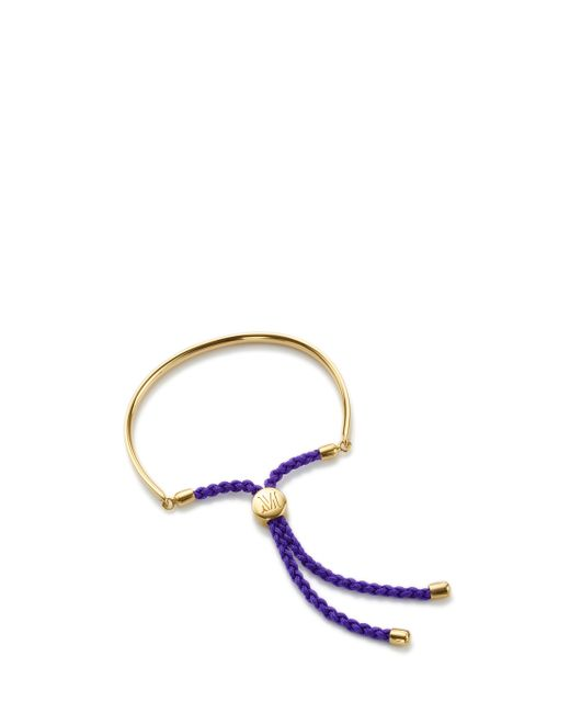 Monica Vinader | Purple Fiji Friendship Bracelet | Lyst