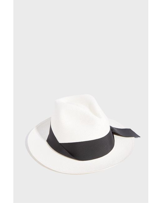 26b6476f35d Sensi Studio - Multicolor Panama Straw Hat - Lyst ...