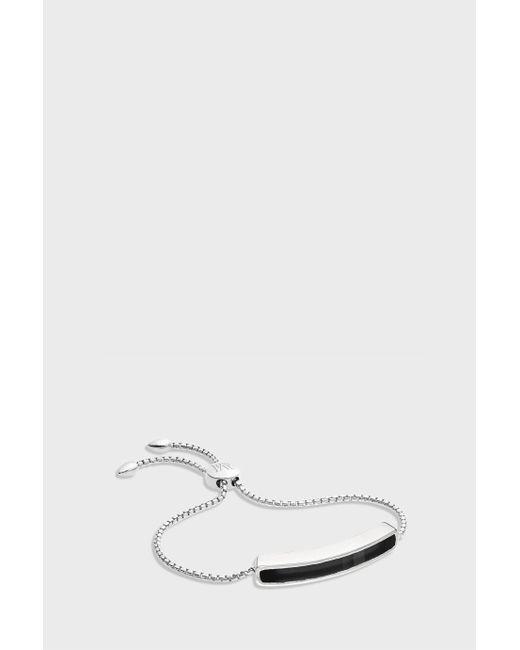 Monica Vinader | Multicolor Black Onyx Baja Bracelet | Lyst