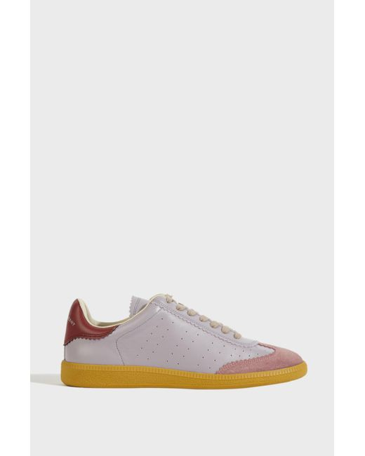 Isabel Marant - Multicolor Bryce Leather Trainers - Lyst
