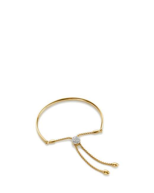 Monica Vinader | Metallic Petite Fiji Diamond Toggle Bracelet | Lyst