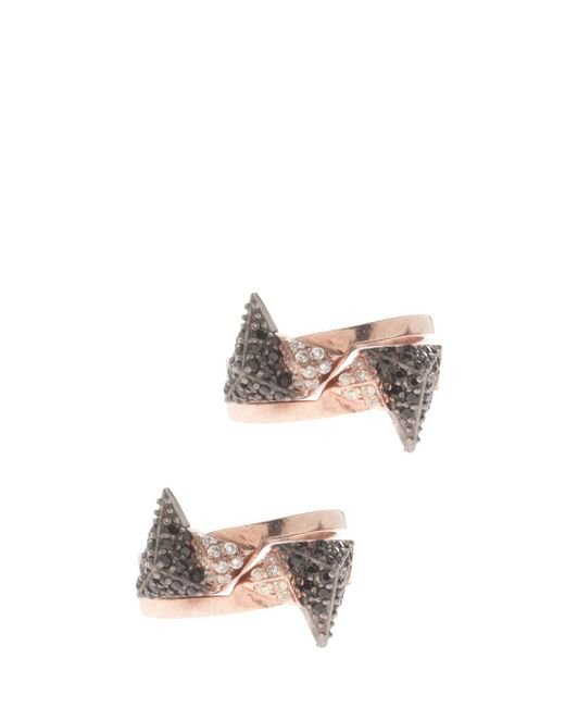 Maha Lozi - Multicolor On The Edge Rings, Size Os, Women - Lyst